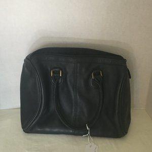 #416 Stone Mountain blue leather handbag